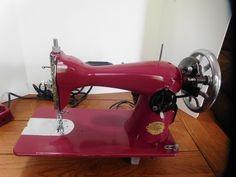 Vintage Zenith Sewing Machine Japan Working