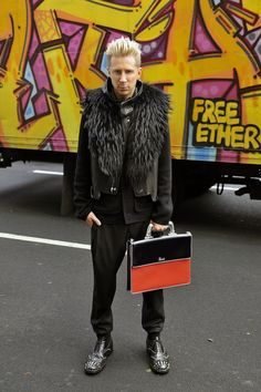 Kyle Anderson, Accessories Editor of Marie Claire.