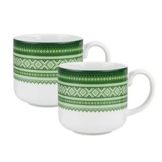 "Mariuskoppen - ""Trend Green"" - i gaveeske - Hyttefeber. Mugs, Tableware, Products, Dinnerware, Tumblers, Tablewares, Mug, Dishes, Place Settings"