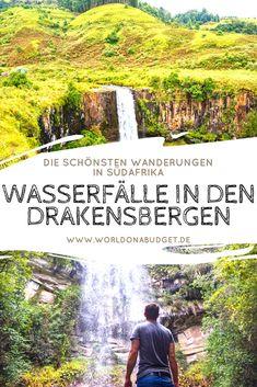 #Wandern in den #Drakensbergen von #Südafrika ist ein unvergessliches Erlebnis! Wir hatten das Glück und konnten den tollen Nationalpark Monks Cowl ganz für uns alleine haben. In diesem #Reisebericht stellen wir dir die schönsten #Wanderrouten zu traumhaften #Wasserfällen vor. So wird dein #Urlaub in Südafrika unvergesslich.