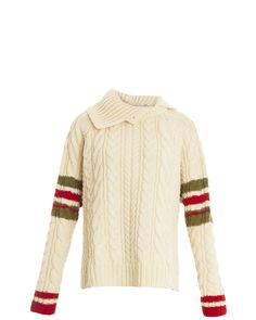 Preen By Thornton Bregazzi | White Chunky Knit Jumper | Lyst