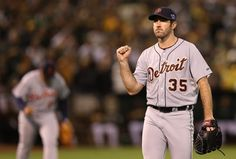 The reigning American League Cy Young and MVP winner fired his first postseason shutout and the Tigers are headed back to the ALCS following a 6-0 triumph over the Oakland Athletics in Game 5 of their ALDS.