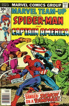 Marvel Team-Up # 52 by Al Milgrom & Frank Giacoia