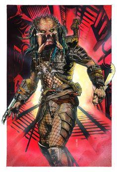 Predator by Garrie Gastonny - For Sale! Comic Art
