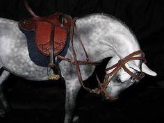 Australian Historic model horse tack