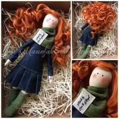 Manufaktura Aniołow (fb) / tilda angel / angel doll / sewing angel / red-haired angel