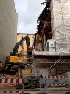 Es geht voran ... die Bauarbeiten am relexa hotel München laufen!