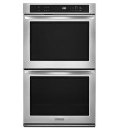 KitchenAid Architect Series II 30' Stainless Steel Double Wall Oven KEBK206BSS * You can get more details by clicking on the image.