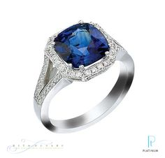 Beautiful Sapphire Designer Diamond Ring