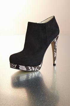 Proper Bootie  w/snake heels ......        ........#boston proper.....