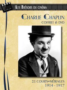 Achat DVD - Films - Charlie Chaplin  http://www.rdm-edition.fr/charlie-chaplin-coffret-6-dvd-21-courts-metrages-1914-1917/V55153.html