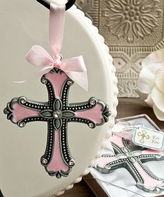 75 Cross Bookmark Favor Baptism Communion Christening favors Religious favor