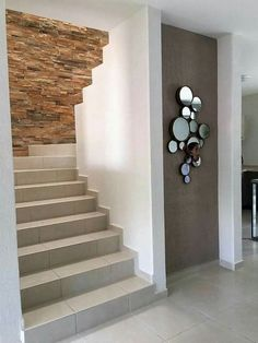 27 Staircase Space Ideas that Turn Into Functional Space 20 Stairs Design Modern Functional Ideas Space staircase Turn Interior Design Your Home, Modern House Design, Flur Design, Modern Stairs, Interior Stairs, House Stairs, Amazing Spaces, Staircase Design, Staircase Ideas