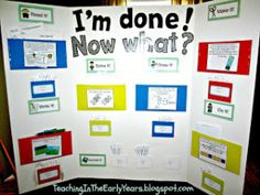 Early Finisher Board...this is a great resource