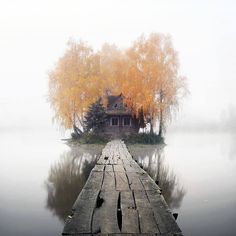 "<< ""Island of love"" # Staryi Solotvyn Village in Zhytomyr region>><<Остров любви # Село Старый Солотвин в Житомирской области>>"