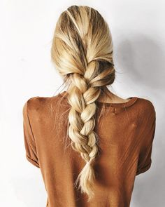 big braids for long hair Lazy Day Hairstyles, Spring Hairstyles, Braided Hairstyles, Hairstyle Braid, Bob Hairstyles, Medium Hairstyles, Headband Hairstyles, Hairstyle Ideas, Blonde Balayage