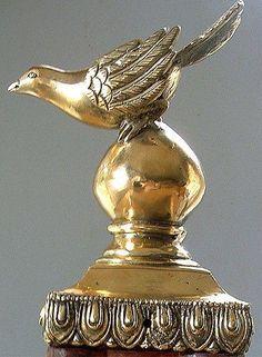 Beautiful Swallow Newel Post finial Cast Brass Brand New | Newel ...