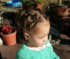 topsey tail pigtails little girl hairstyle baby hairstyle baby girl