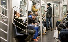 Old man, who was probably shrooming, terrorizes NYC subway with dildo