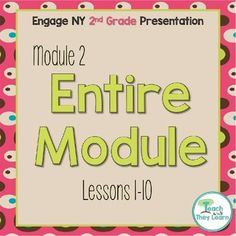 10 Top 2nd Grade Engage NY Lessons images   Engage ny math
