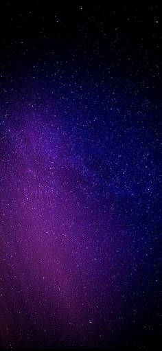 Starry night, purple light