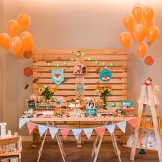 Super Baby Shower Ides Safari Decoration First Birthdays Ideas Fox Party, Baby Party, Safari Decorations, Birthday Party Decorations, Baby Event, Wild One Birthday Party, Baby Shower Winter, Boy Baby Shower Themes, Woodland Party