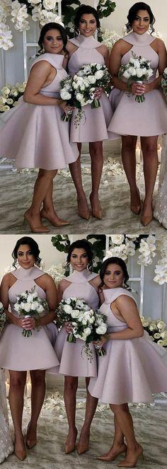 Prom Dresses Boho, Vintage Style Short Halter Satin Bow Back Bridesmaid Dresses Shop prom dresses Boho,such as beading prom pieces prom dresses,chiffon prom dress,lace prom dresses 2 Piece Homecoming Dresses, Fitted Prom Dresses, Elegant Bridesmaid Dresses, Prom Dress Stores, Pink Prom Dresses, Coral Dress, Mermaid Prom Dresses, Dresses Uk, Dress Shops