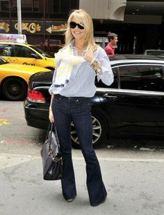 Christie Brinkley in J Brand Jeans