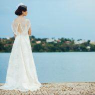 10 lindos vestidos para noivas que amam retrô/vintage
