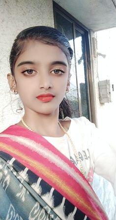 Cute Beauty, Indian Girls, Indian Beauty, Desi, Hoop Earrings, Selfie, Portrait, Women, Fashion