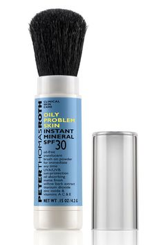 Peter Thomas Roth Oily Problem Skin Instant Mineral SPF 30, $30, peterthomasroth.com.