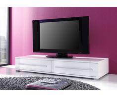 Meuble TV Blanc laqué #meubletvblanc