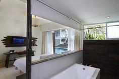 Daylight bathroom at The Akmani Legian Bali