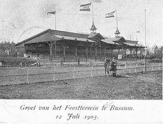 Bussum - Ooit heeft Bussum ook een renbaan gehad.