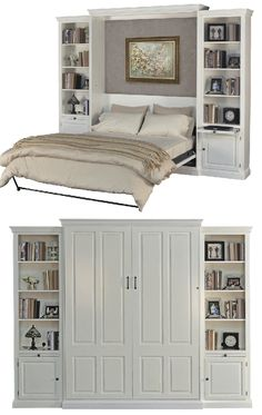 What do you get when you combine a wall bed with style, function, local craftsmen, and a variety of custom options? Why, the Ashby Murphy Bed from Stuart David Home Furnishings, of course! Make your wall bed look the way you want it to with our wide selection of configuration, real wood, finishes, and hardware.