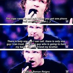 You could have  called me-scar        It was smart for you to consult  roman about this little 'issue' and not me-Adrianna  You wouldn't have came for me even if I called-Dean You are  right because  I have this thing called a life-Adrianna