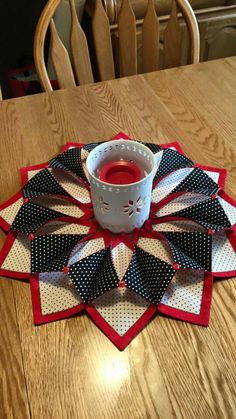 Fabric candle