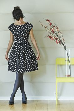 Anna Dress - By Hand London Pattern - Version de Romanne