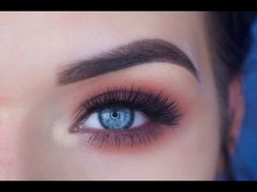Too Faced Sweet Peach Palette Eye Makeup Tutorial - YouTube