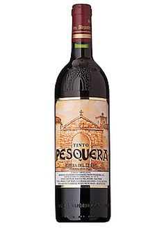 "Pesquera Ribera del Duero Tinto. ""Rioja-like"" wine from a former beef farmer. This wine would need to be softened in a decanter since its heartier. Ribera del Duero is a region in Spain that is lessor known."