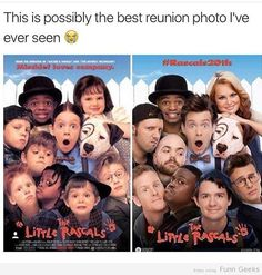 Best Reunion Photo - I used to hate this movie but I mean this is still cool