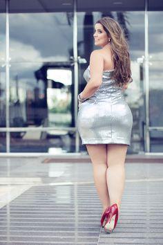 Mayara Beraldo Curvy Fashion, Plus Size Fashion, Fashion Models, Curvy Plus Size, Plus Size Model, Real Women Curves, Plus Size Beauty, Beautiful Curves, Nice Curves