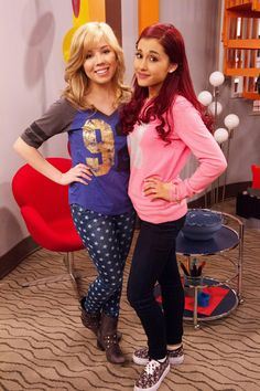 Ariana and Jenette are going to star in a show called Sam and cat. Two babysitters!!! Can't wait love them both