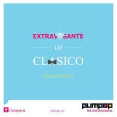 Extravagante o Clásico?  #versus #clasico #extravagante