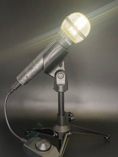 Smart Buys! Handheld microphone lamp 4 SHURE SM58 starting from $120.00 See more. 🤓 #GiftForSinger #mic #MicrophoneLamp #Light #retro #Music #MicrophoneLight #Microphone #vintage #Lamp Christmas Ships, Smart Buy, Lamps For Sale, Led Lamp, One Pic, Bulb, Retro, Music, Vintage