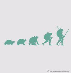 Evolution,, love it. lots og great illustrations via http://whatanart.com