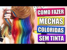 COMO FAZER TATUAGEM FALSA EM CASA! - YouTube
