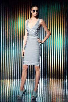 Hervé Léger by Max Azria - Resort 2014 - Look 16 of 41?url=http://www.style.com/slideshows/fashion-shows/resort-2014/herve-leger-by-max-azria/collection/16