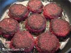 rødbede-bøffer-6 Vegas, Vegetarian Recipes, Healthy Recipes, Good Food, Yummy Food, Danish Food, Plant Based Diet, Vegetable Dishes, Food Inspiration