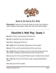 an analysis of the characters and roles in the novel charlottes web by eb white Author extras and resources based on the award winning book charlottes web by eb white charlottes web is a classic childrens novel about a pig named  summaries quotes character analysis themes and more everything you need to sharpen your knowledge of charlottes web page 2.